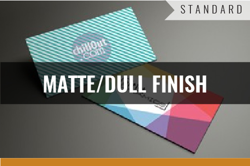 Standard Matte Coated Business Cards