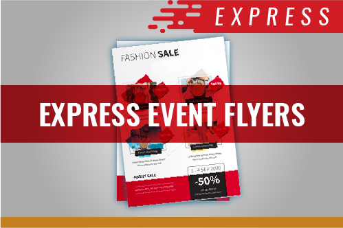 EVENT FLYERS - EXPRESS