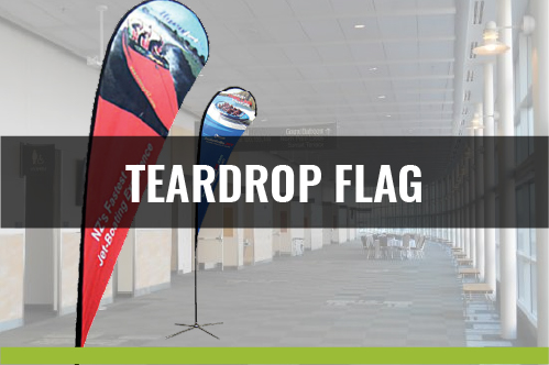 Teardrop Flag - 3 Sizes