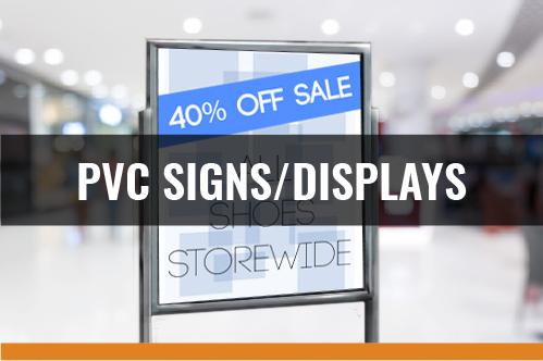 PVC Signs-Displays
