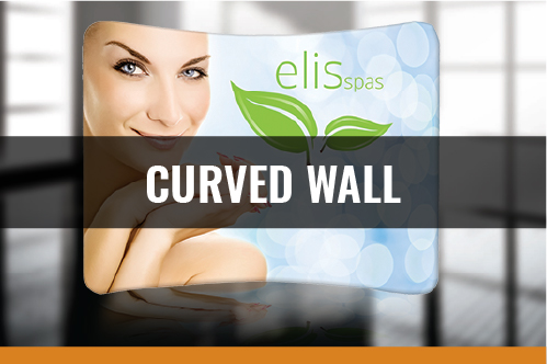 Curved Wall Backdrop