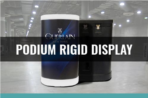 Podium Hard Case Display