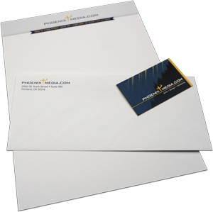 stationery letterhead envelope business cards