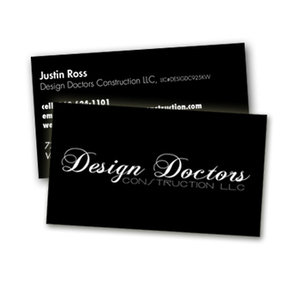 Short run business card printing business card printing services short run business card printing reheart Images