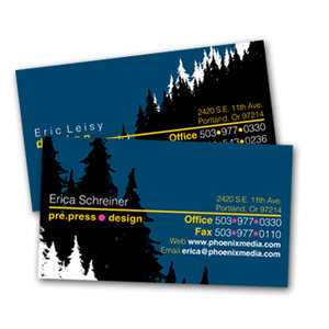 Silk 16pt Business Card Printing