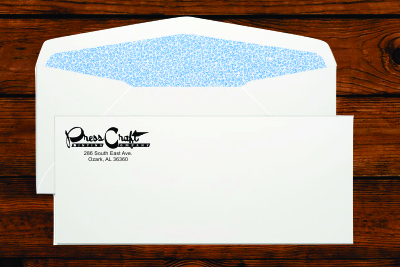 #10 Regular Envelopes Security Tint
