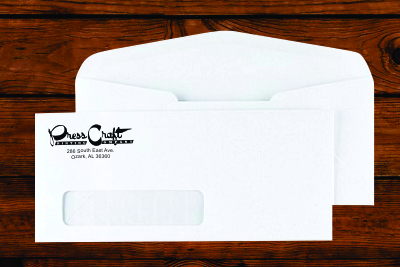 #10 Window Envelopes No Security Tint