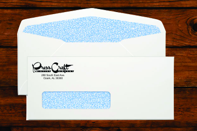 #10 Window Envelopes Security Tinted