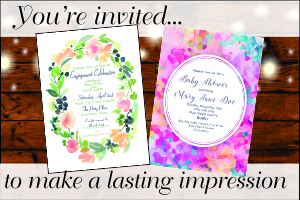 press craft printing 5x7 invitations blank a 7 white envelopes