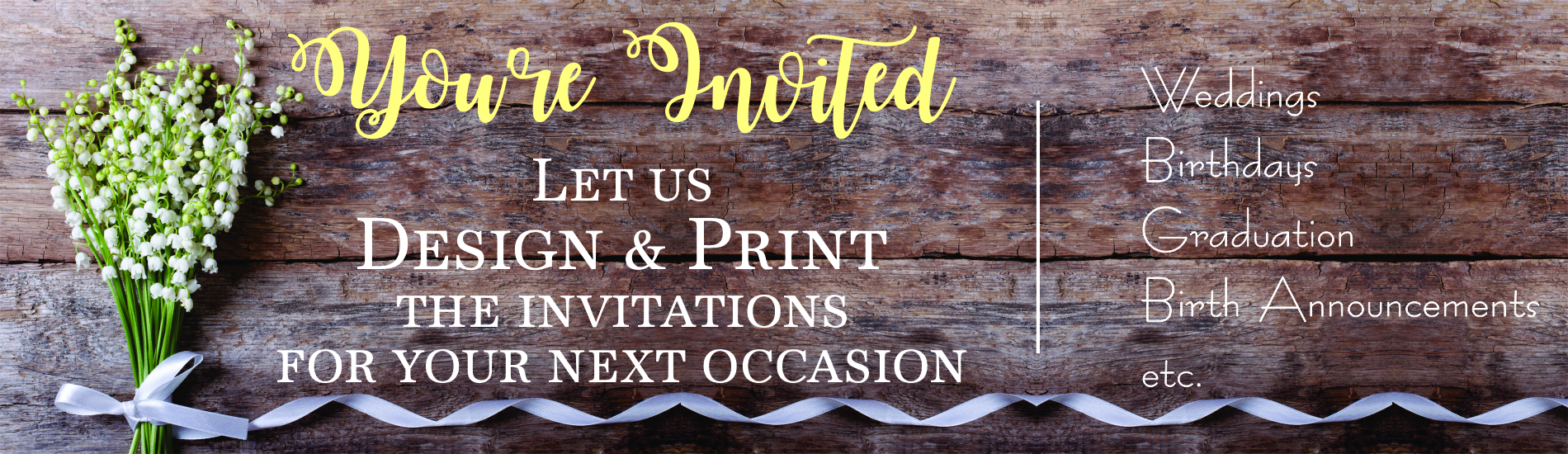 Invitation slide