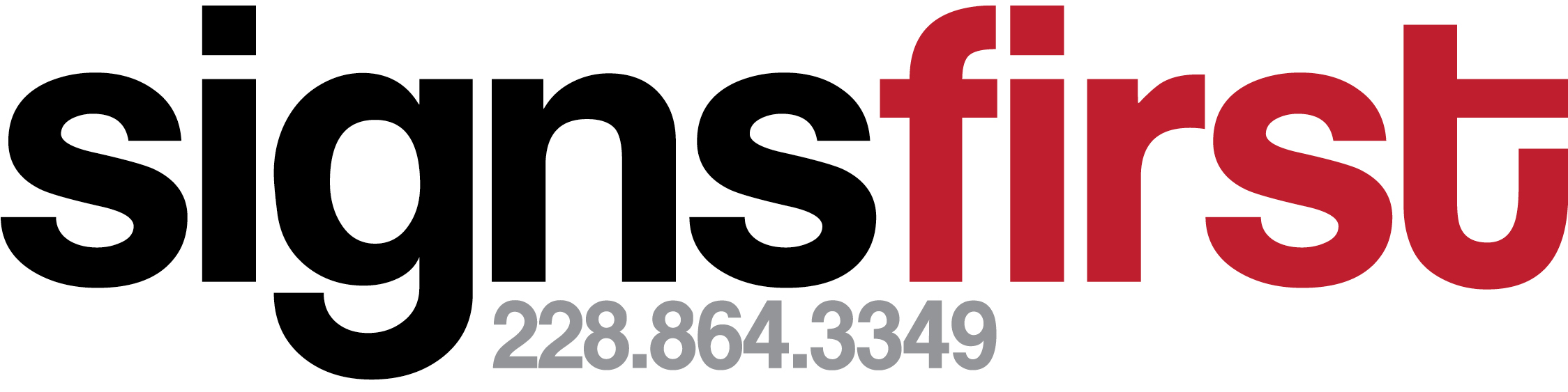 Signs First Logo