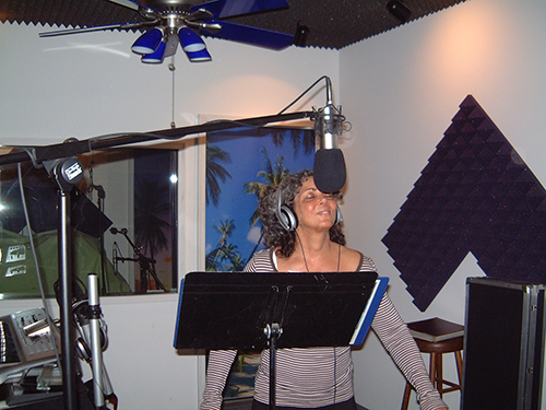 Paradise Recording Studio Sessions featuring Stephenie Monear