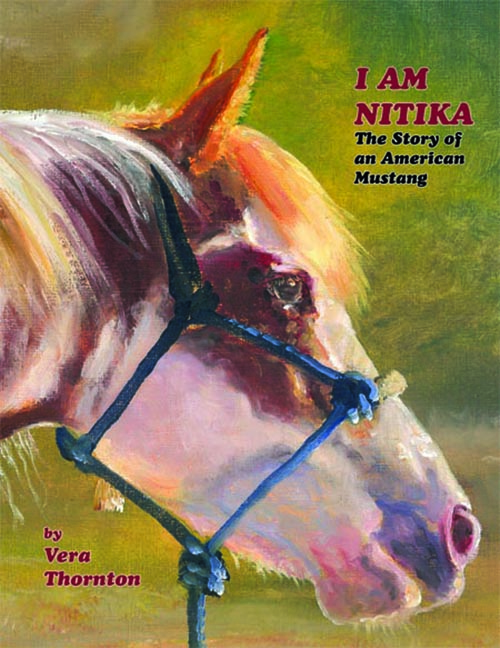 I Am Nitika by Artist Vera Thornton