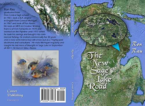 The New Sage Lake Road Book Cover Spread