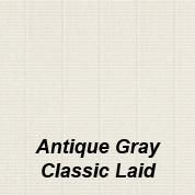 Antique Gray Classic Laid