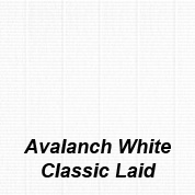 Avalanche White Classic Laid