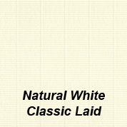 Natural White Classic Laid