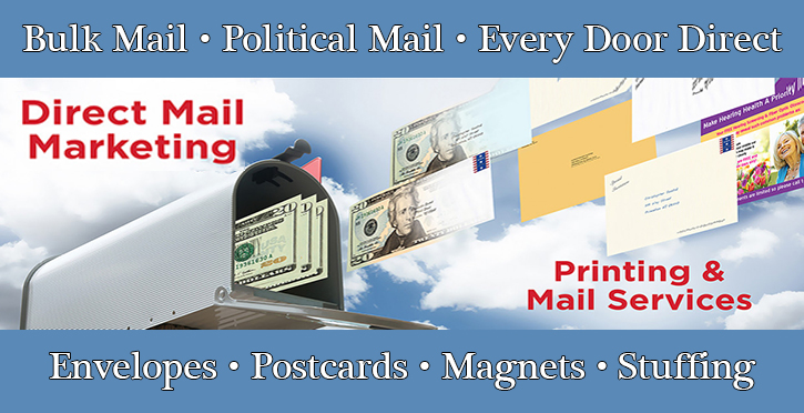 Direct Mailing Bulk First Class Everydoor Direct