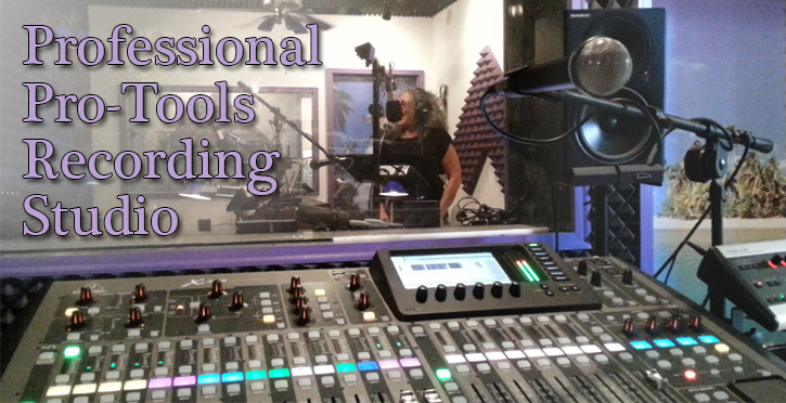 Professional Pro-Tools Recording Studio in Flint Burton Grand Blanc