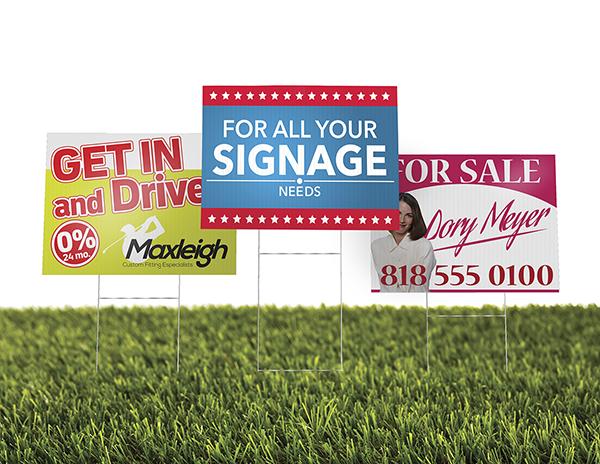 Yard signs 24x18
