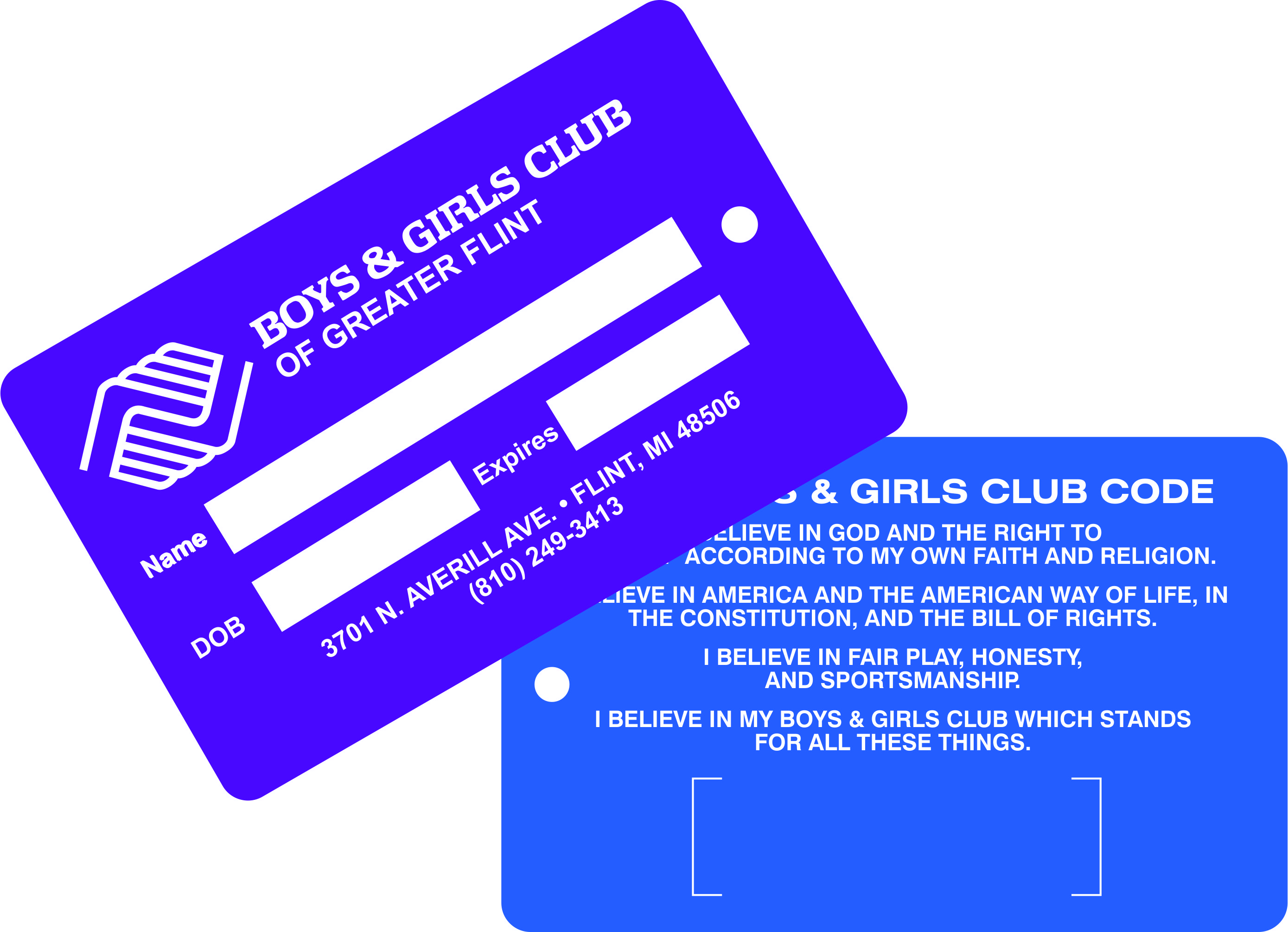 Boys & Girls Club Cards