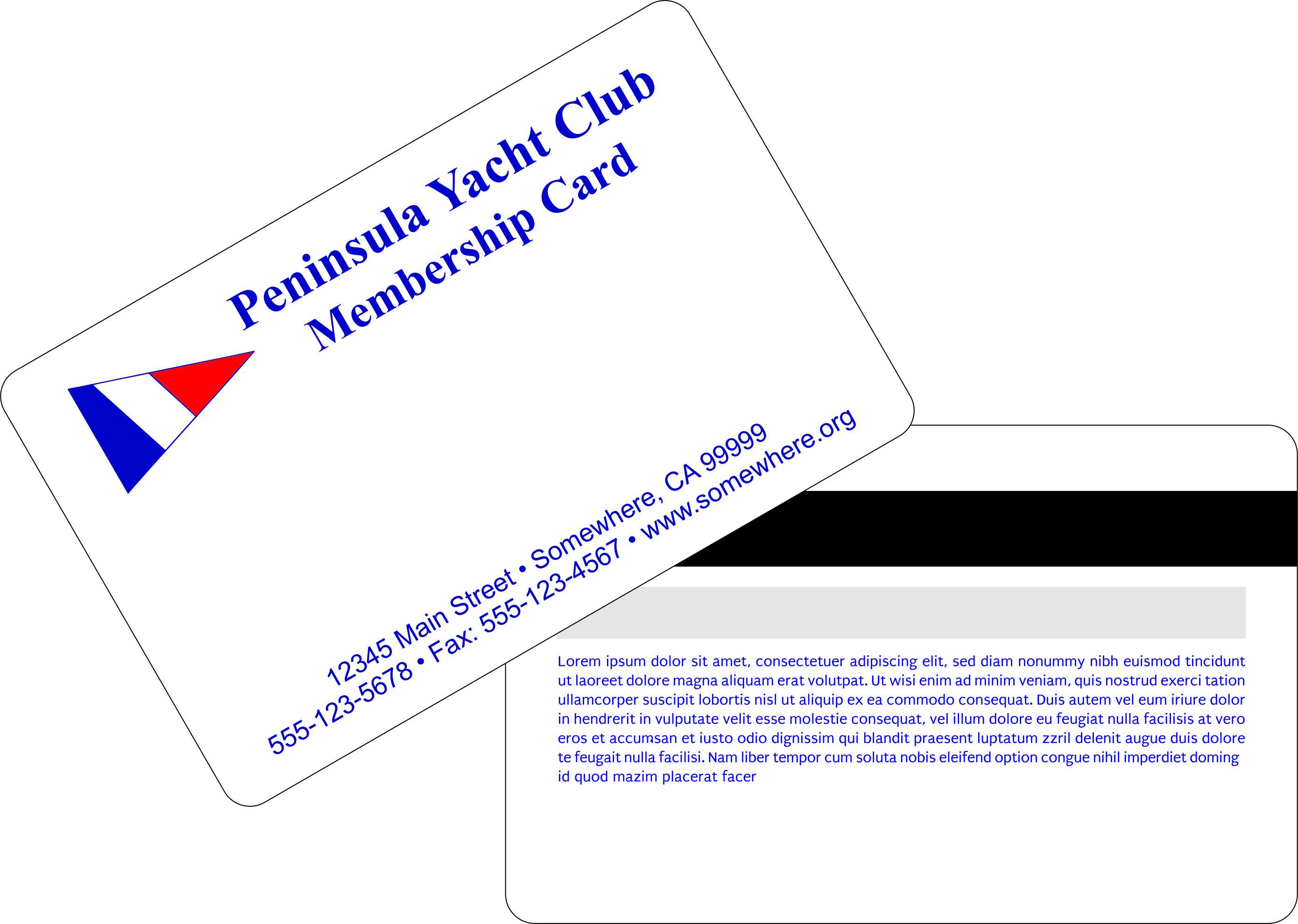 Membership Cards