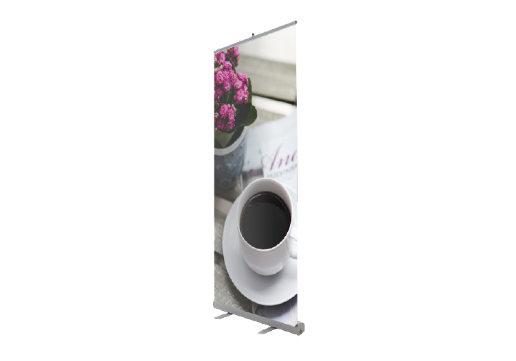 Retractable Banner Stand Product page