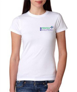 Silk Screen Womens tshirt