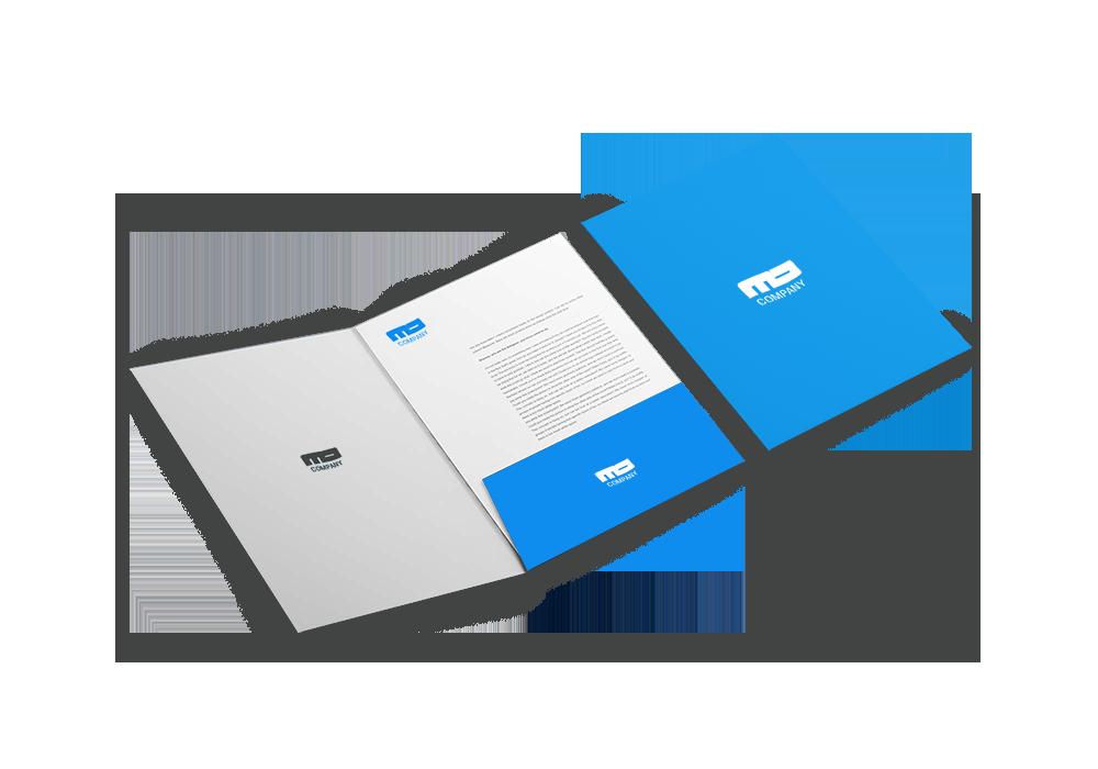 Pocket Folder Presentation Folder Printing