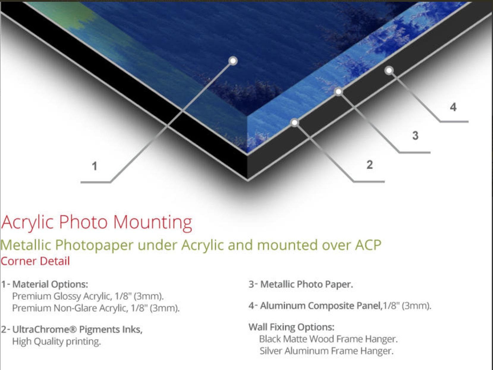 Acrylic Metallic Prints