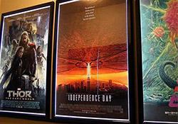 Backlit Posters