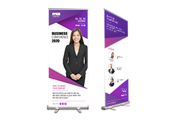 "Retractable Banners 33"" wide"