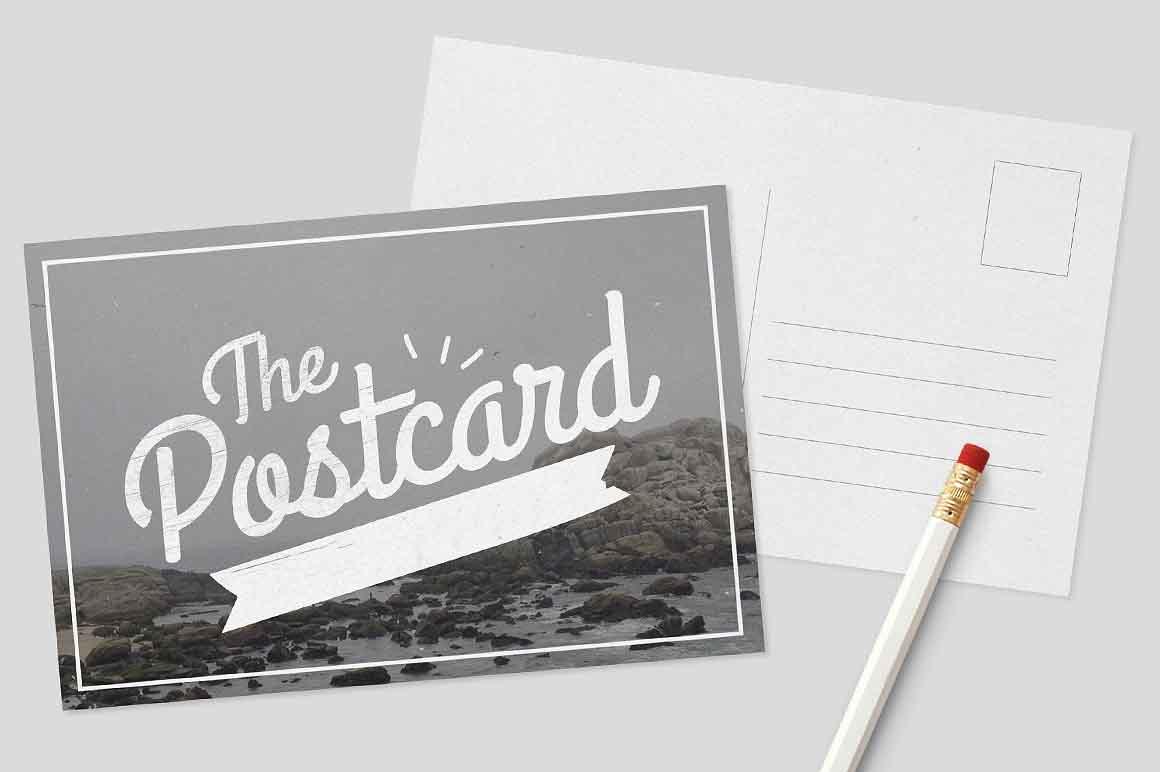 Postcards: Black & White