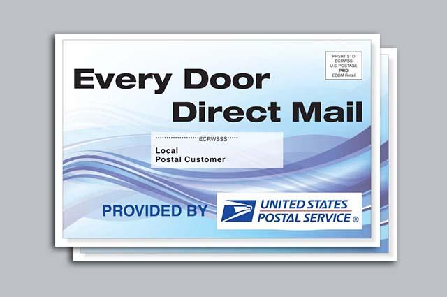Postcards: EDDM (Every Door Direct Mail)