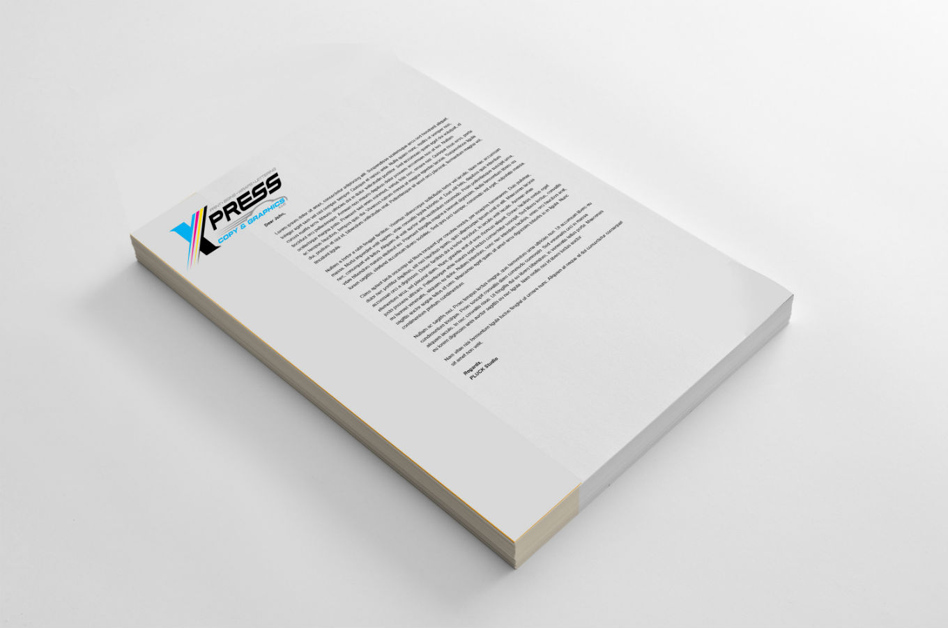 Letterhead: Full Color
