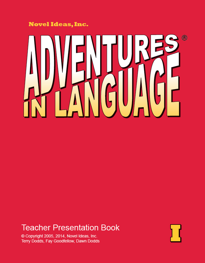 Adventures in Language® Level I (2014 Edition) Teacher Materials (Teacher Presentation Book, 1 copy of Student Workbook, 1 packet of BLM/Homework Masters, Answer Key Workbook)