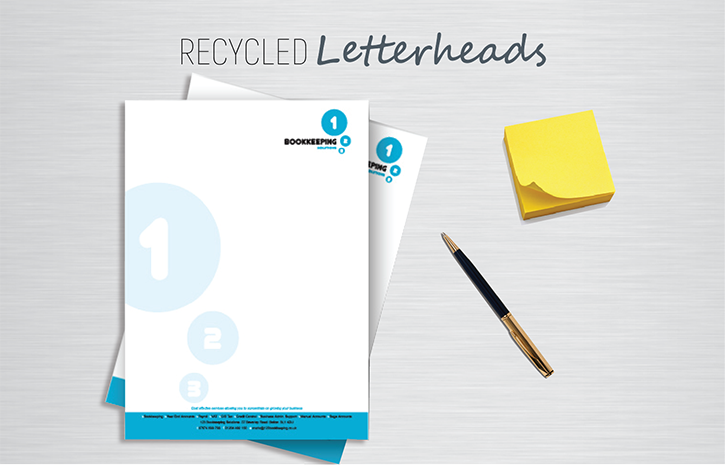 Letterhead printing recycled letterheads recycled letterheads paper altavistaventures Images
