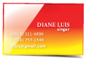 glossy UV business cards