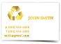 businessc card foil