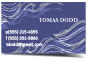 business cards linen