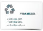 business cards metalic