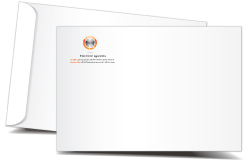 X Open End Envelopes Printing - 9x12 envelope printing template
