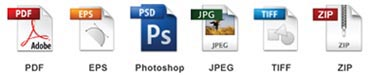 green printer file formats