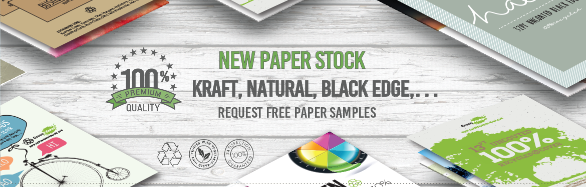 green printing papers