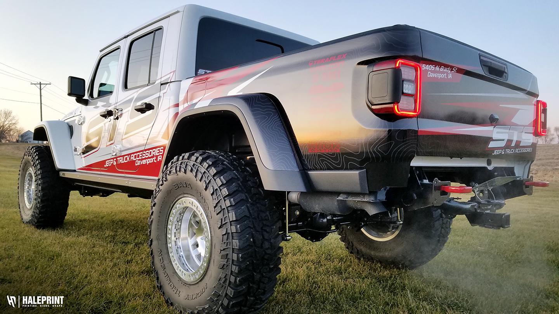 Jeep Truck Wrap