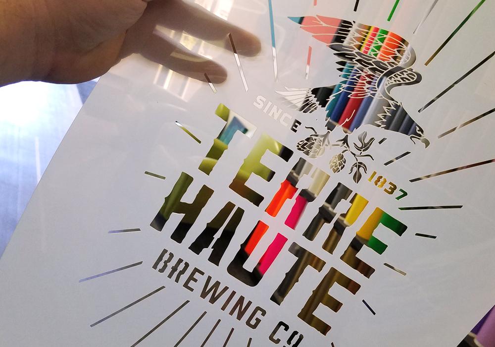 reusable logo stencils