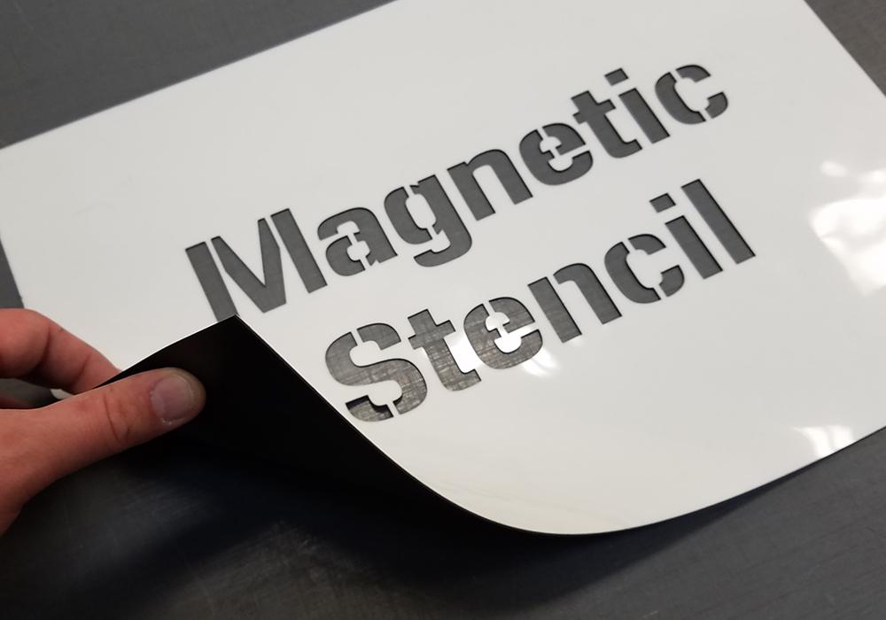 custom magnetic stencils