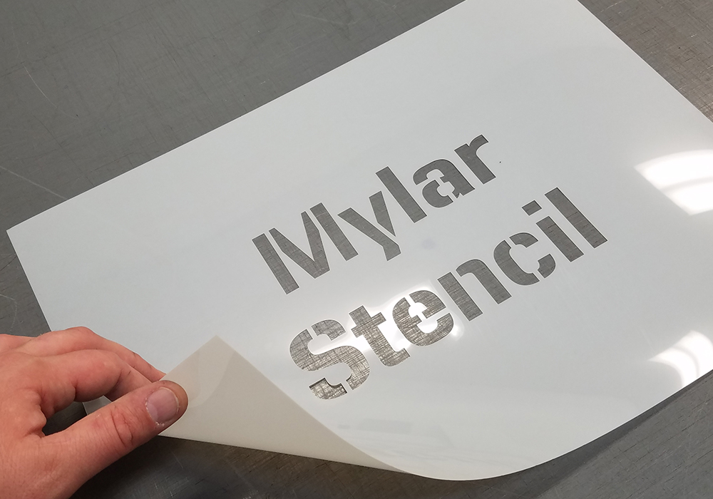 Custom Cut Mylar Stencils