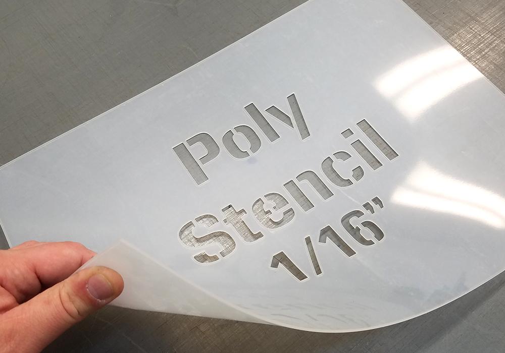 Poly 1/16 Stencils