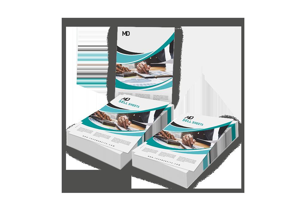 sell sheet printing
